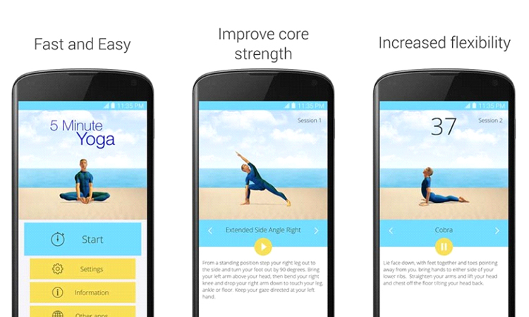 Yoga In Your Mobile - Download These Apps
