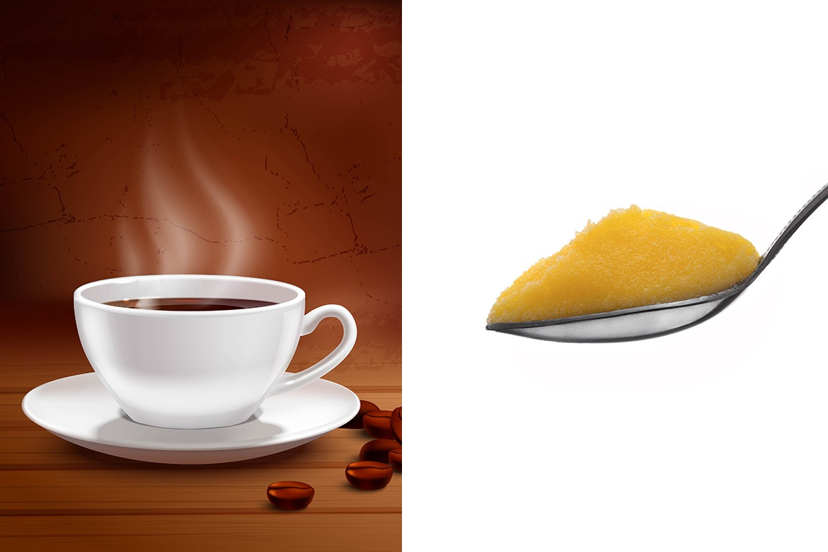 coffee and ghee
