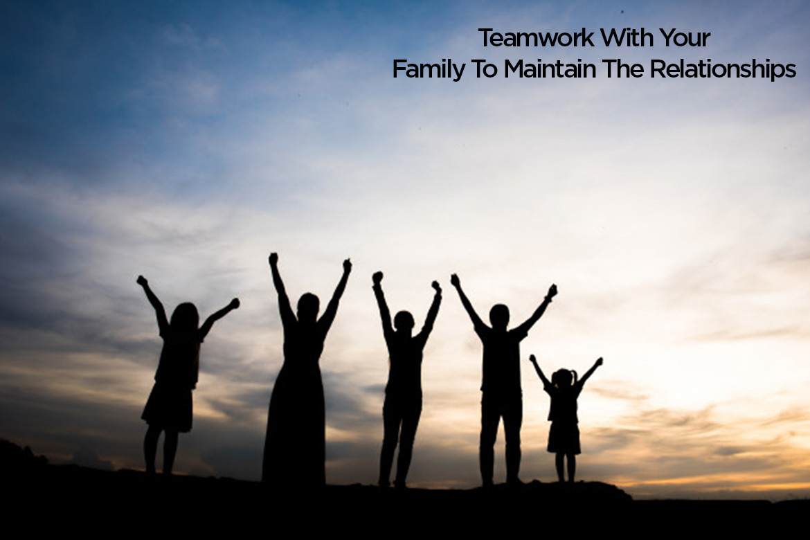 teamwork with your family