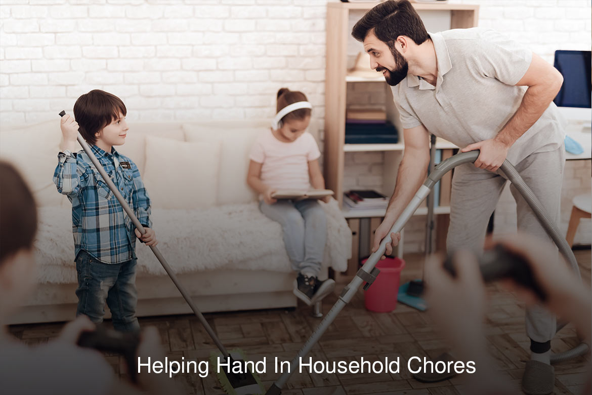 helping hands in households chores