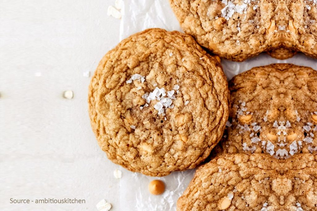 Sweet And Buttery Oatmeal Biscuit