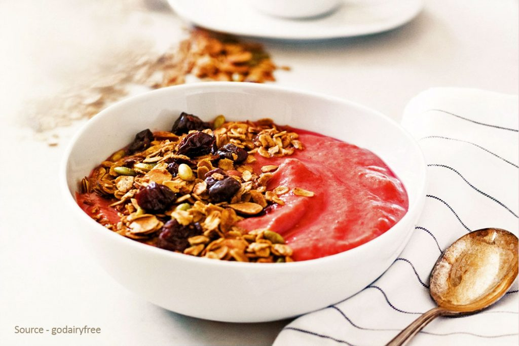 Pumpkin Cherry Breakfast Cereals