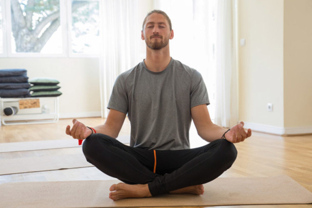 TRY TO MEDITATE FOR 5-10 MINUTES IN THE MORNING