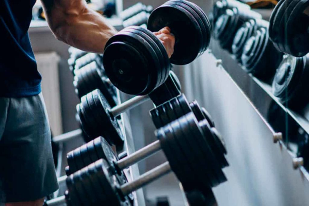 Dumbbell Workout is the best for upper body strength