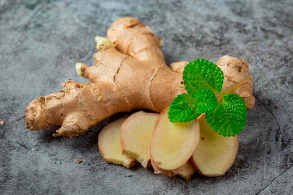 Ginger is considered the best cure for Allergy