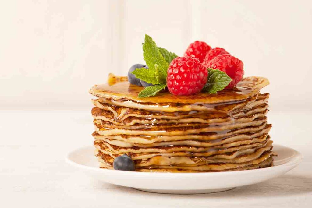 Pancakes for early morning workout