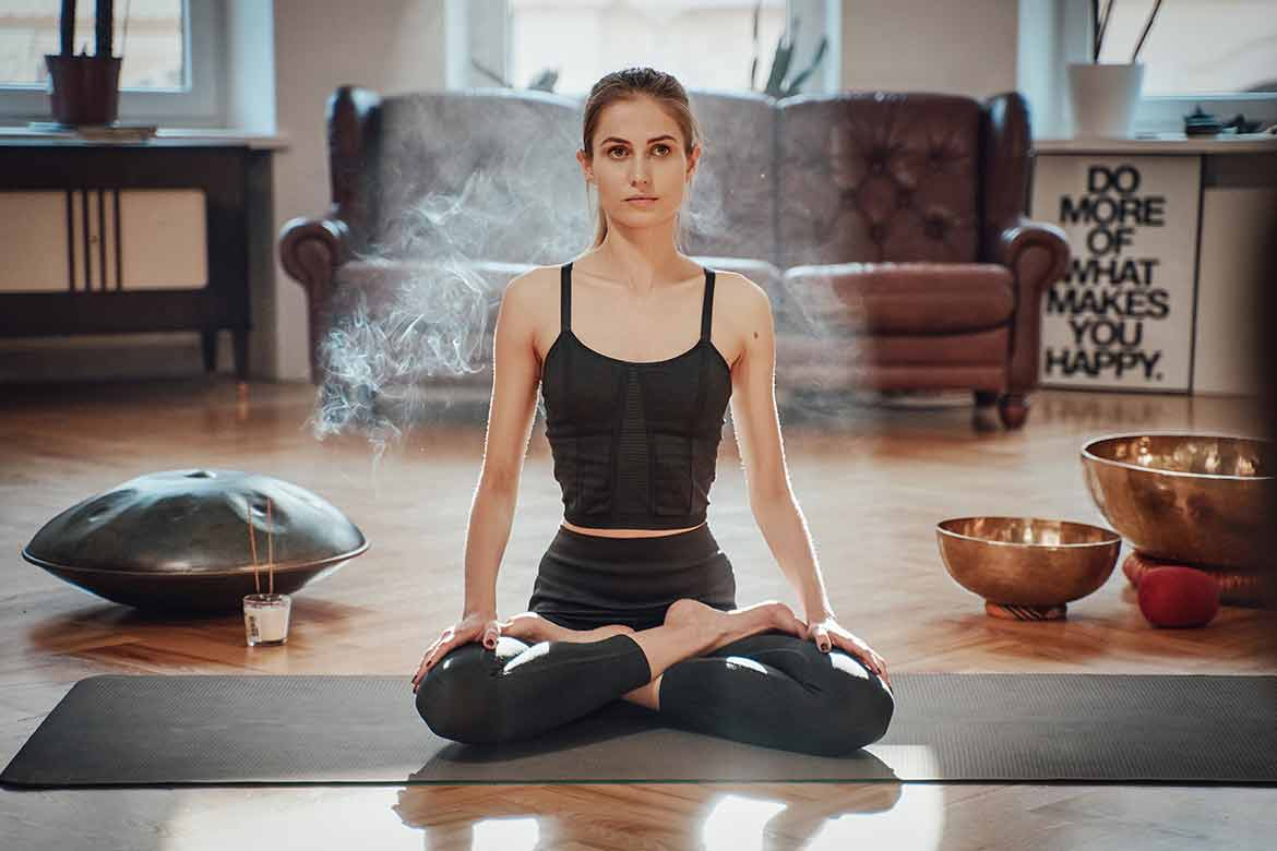 how to create your own meditation space